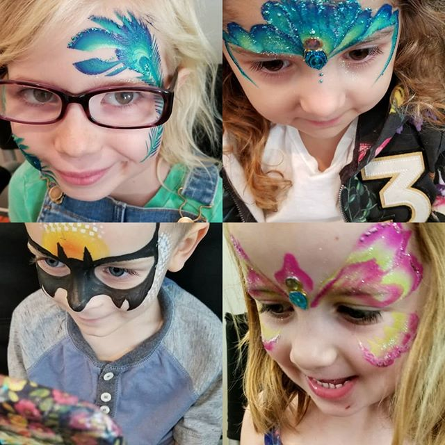 #lilyskyfacepainting #face painter# face
