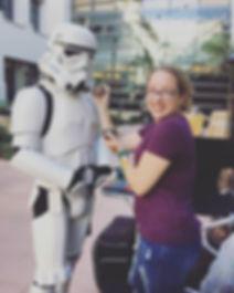 #lilyskyfacepainting #stormtrooper #star