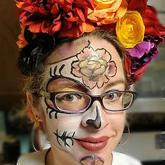#dayofthedeadmakeup #dayofthedead #diade
