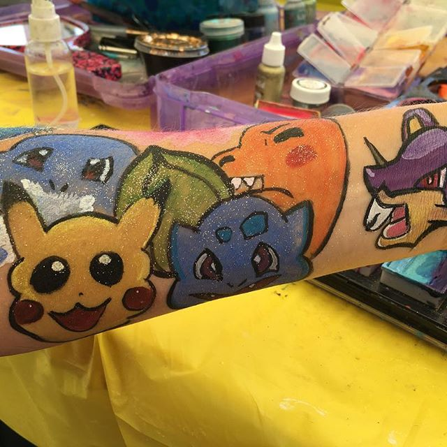 Pokemon arm