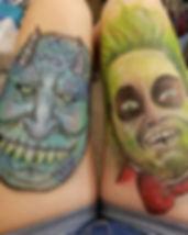 #troll#norblu#bodyart#lilyskyfacepaintin