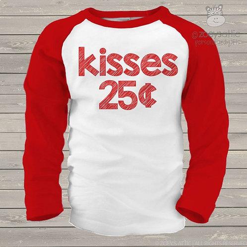 kisses 25 cents