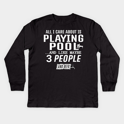 I care about pool and like 3 people