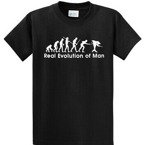 REAL evolution of man