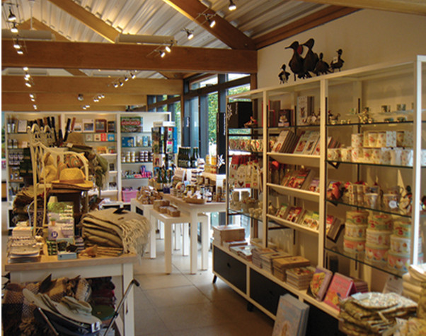 Coleton Fishacre Shop and Tea Rooms