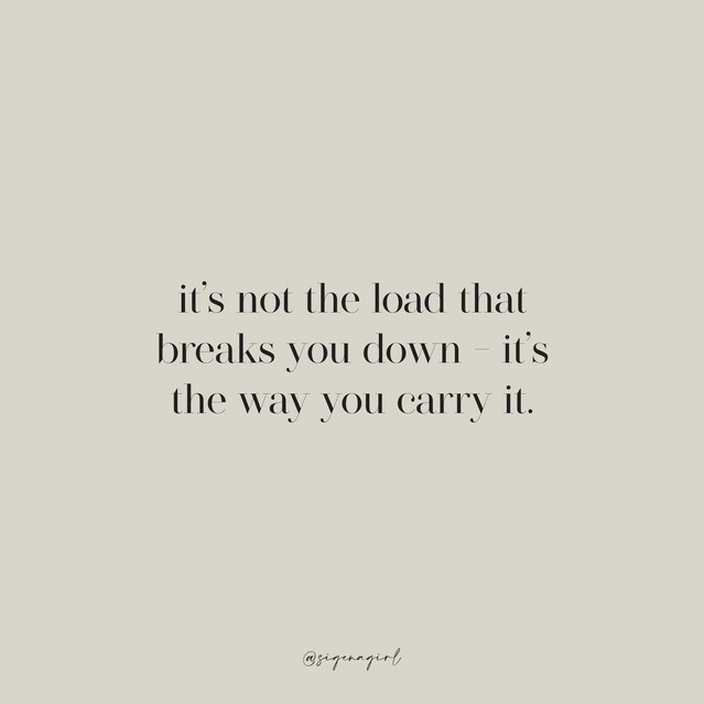 its not the load that breaks you down.jp