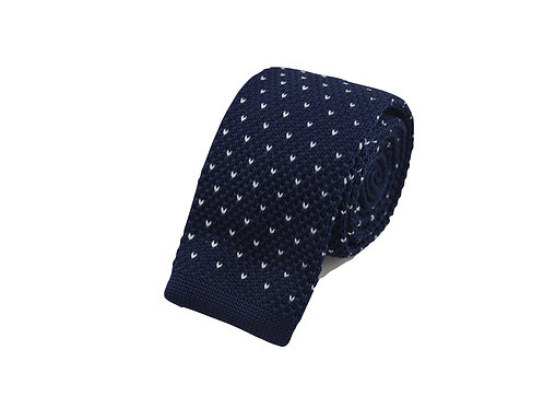 Small heart pattern - Knitted tie
