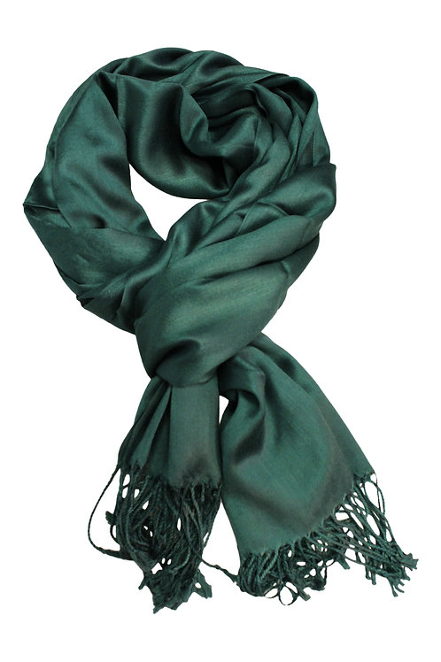 FOREST GREEN SCARF