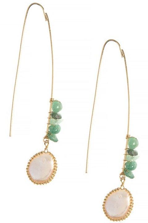 Chip Drop earrings