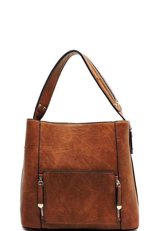 Three compartments Shoulder Bag