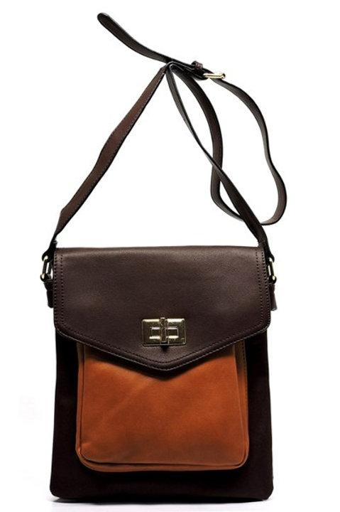 Colorblock Cross Body Bag
