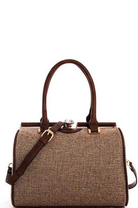 Woven Fabric Handbag