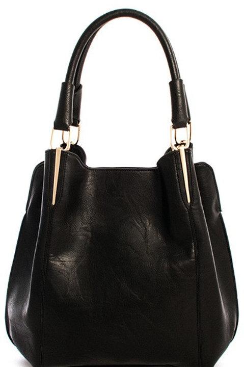 2-in-1 Satchel Handbag
