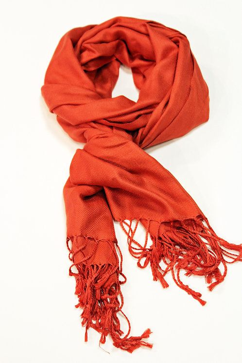 SOLID WRAP SCARF