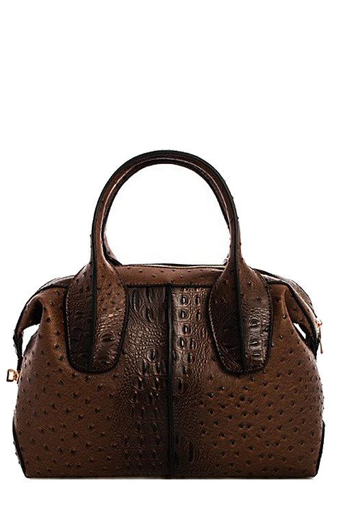 Croc Satchel Handbag
