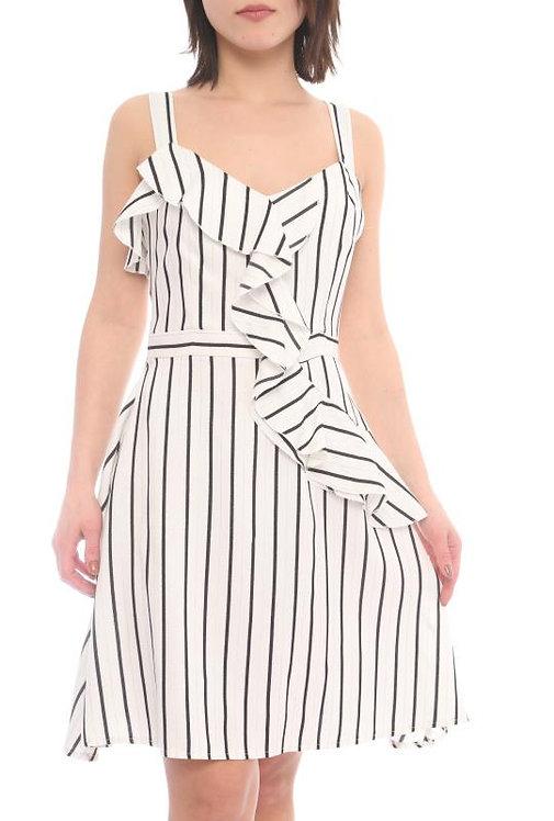 Strip Dress front