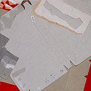 "07AC00460, 2014-2015, PAPER AND CARDBORD, 9"" x 9"", 22.8 x 22.8cm"