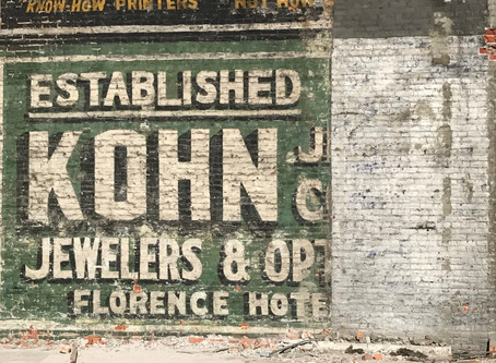 Herman Kohn jewelers sign revealed