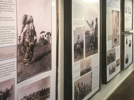 Our Salish exhibit can now be seen at The Historical Museum at Fort Missoula.