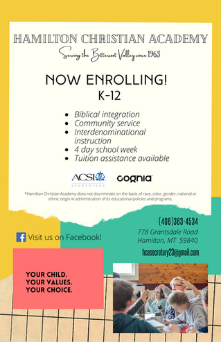 Open Enrollment Starts March 10th