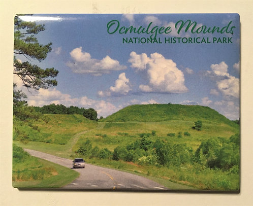 Great Temple Mound Magnet