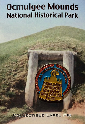 Ocmulgee Mounds NHP Lapel Pin