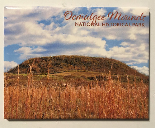 Great Temple Mound in the Fall Magnet