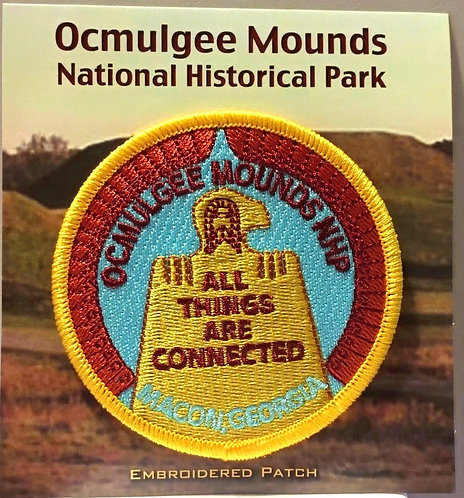 Ocmulgee Mounds NHP Embroidered Patch