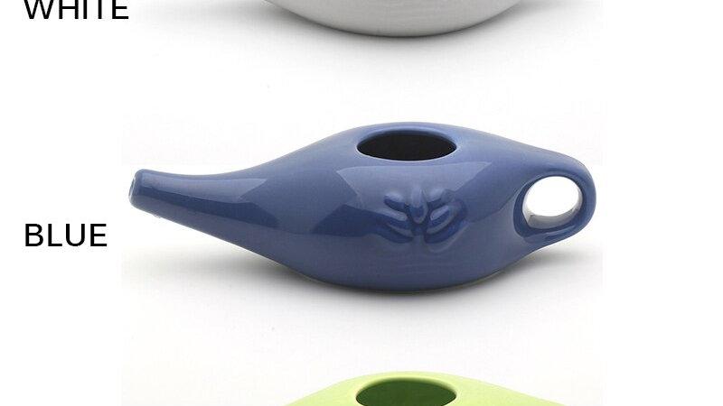 Ceramic Neti Pot Nasal Debris Cleaner