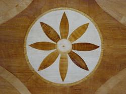 Detail Faux Inlaid Wood Floor