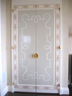 Art Deco Dining Room Door
