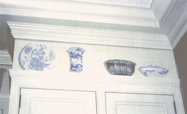 Kitchen Trompe L'oeil Frieze