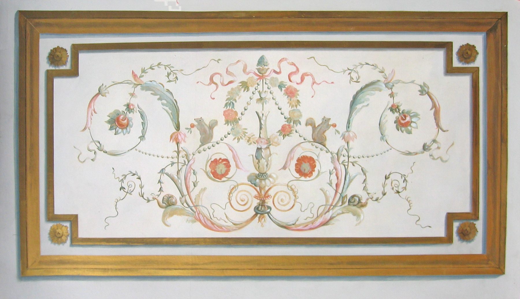 French Painted Panel
