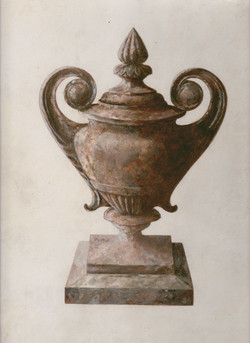 Painted Urn