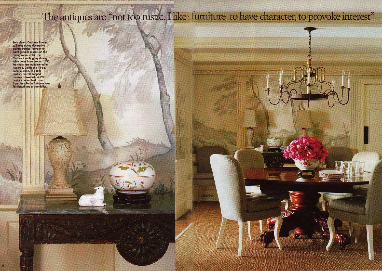 Dining Room Landscape Mural