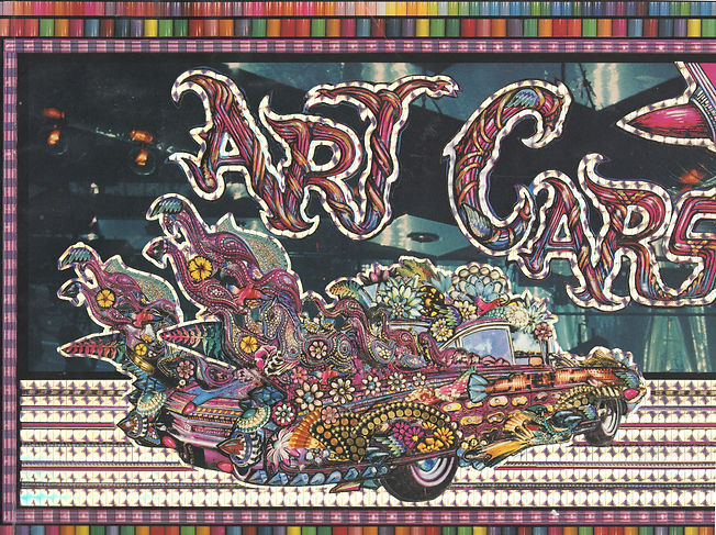 Art Cars Ineri Foundation Houston Texas