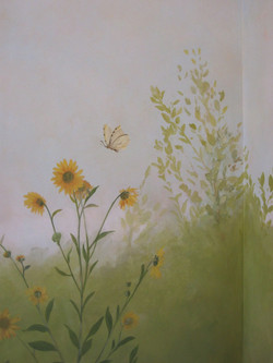 Sitting Room Garden Mural