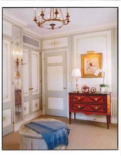 Paneled Dressing Room