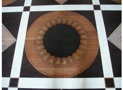 Detail Geometric Painted Floor