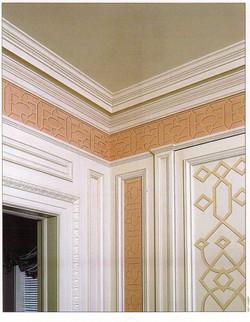 Painted Chinosierie Dressing Room