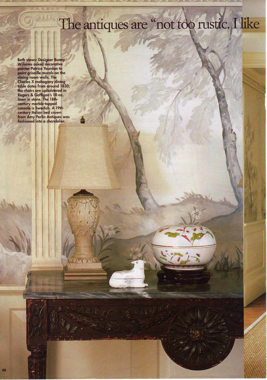 Detail Landscape Mural
