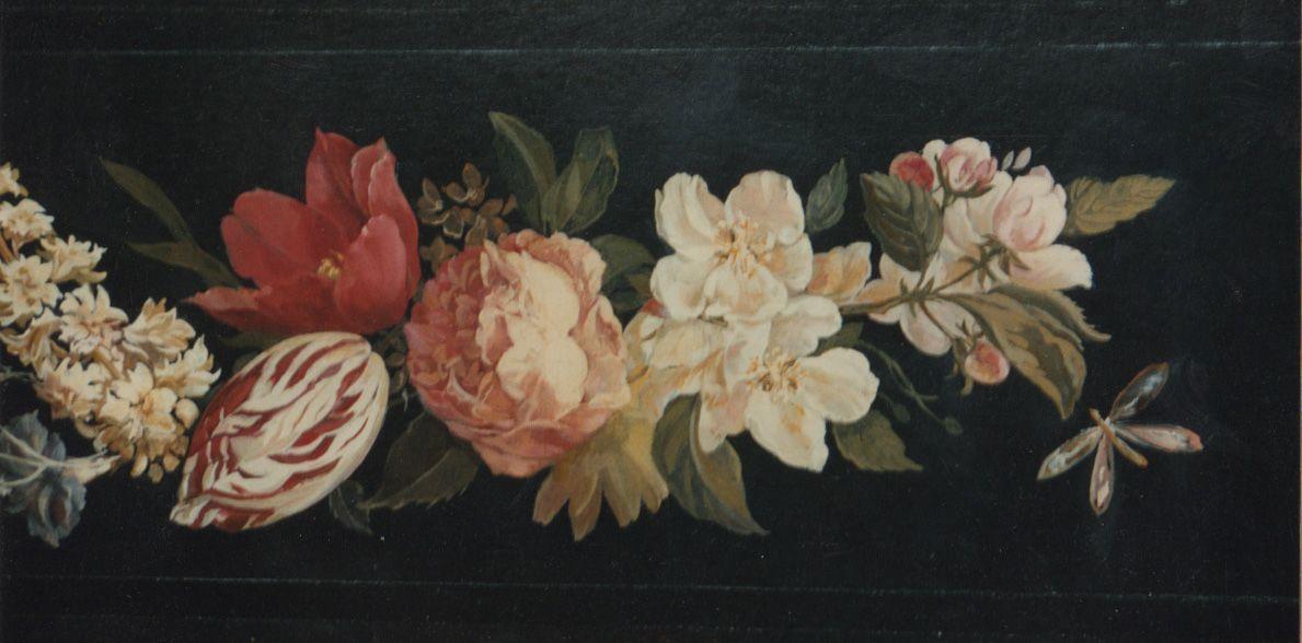 Over Door Flower Panel