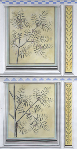 Gilded Ceiling Panel Olea