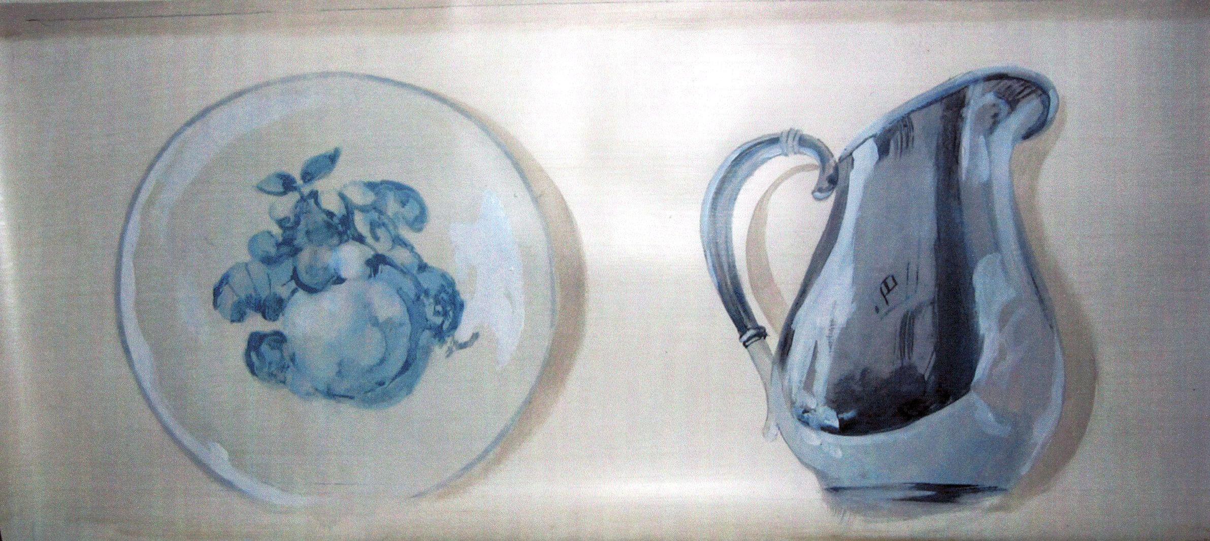 Detail Kitchen Trompe L'oeil Frieze