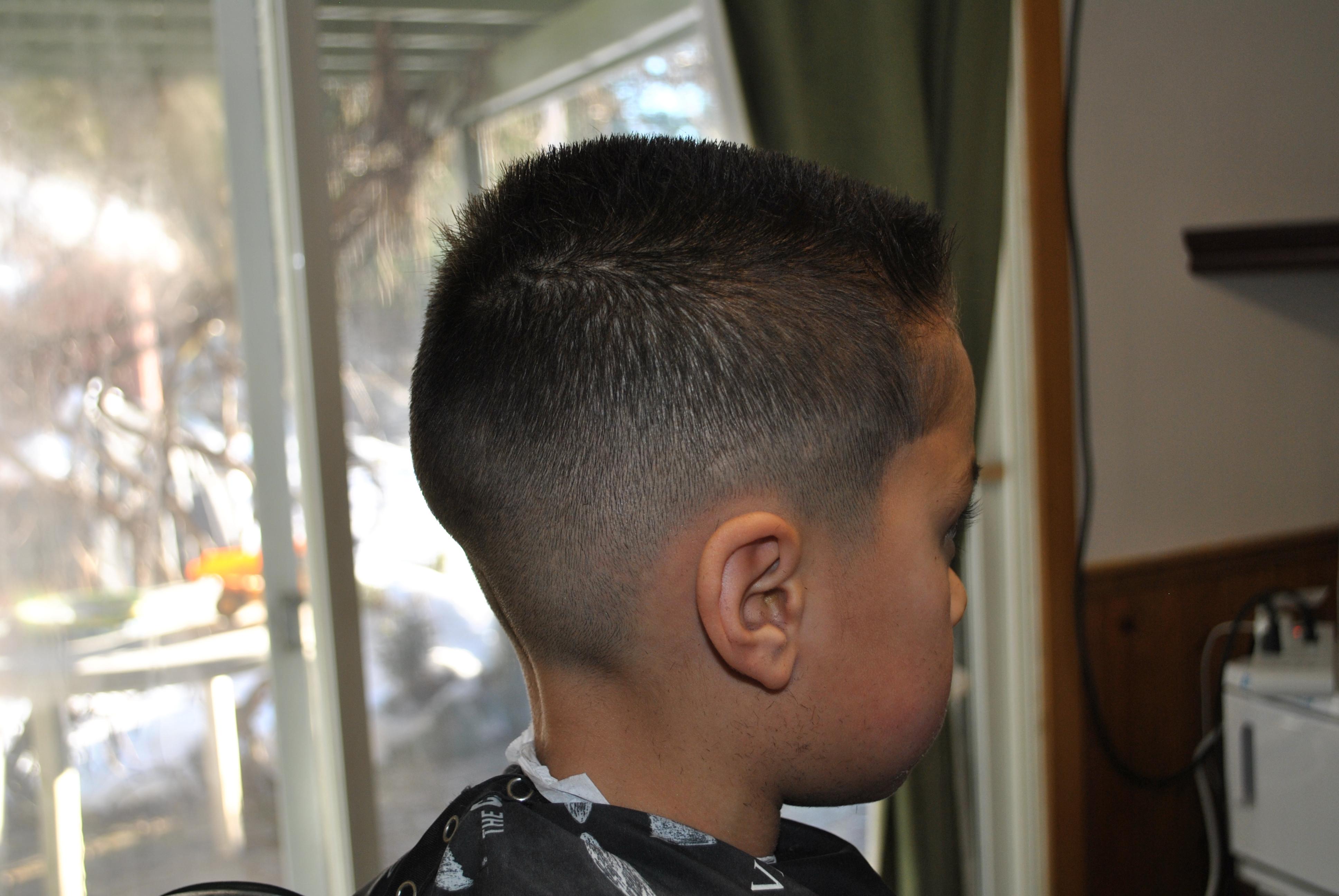 Kid's haircut