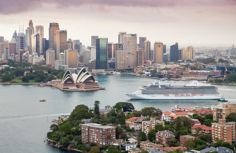 Oceania in Australia
