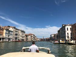 Private water taxi in Venice