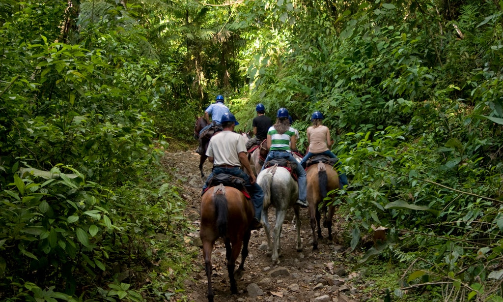 Arenal horse back riding