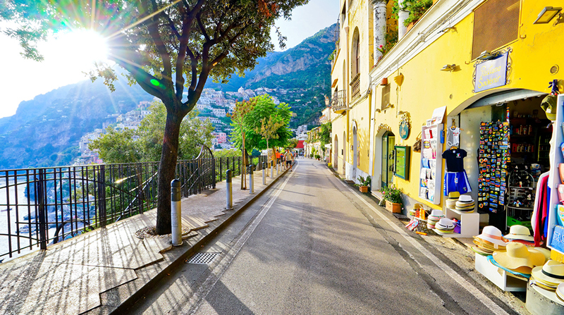Shopping in the Amalfi Coast