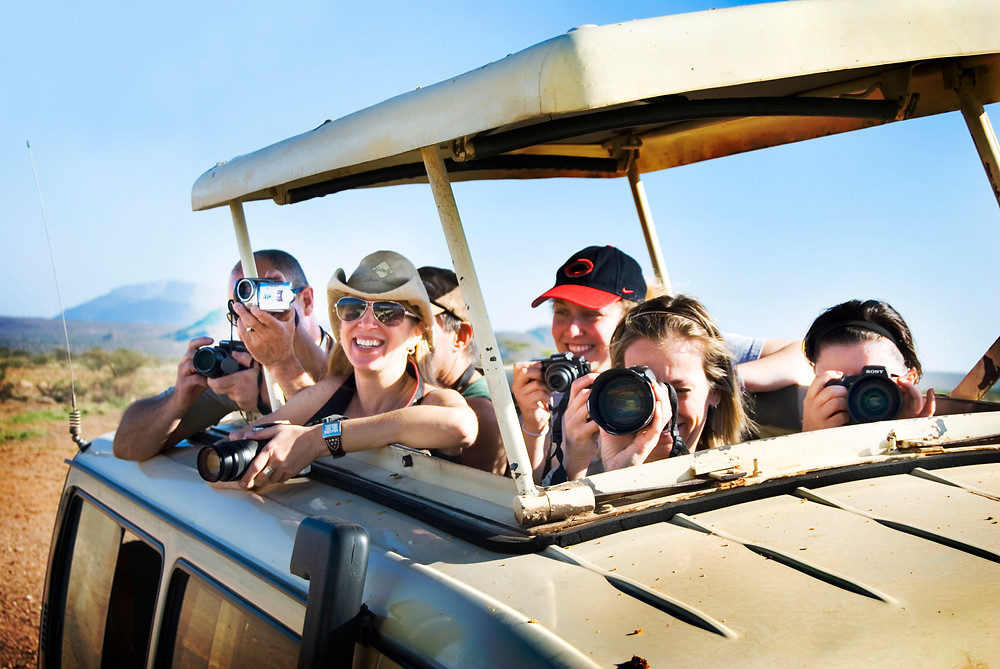 Group Travel on Safari
